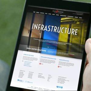 Net Access Website on iPad
