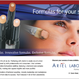 Ariel Laboratories Ad