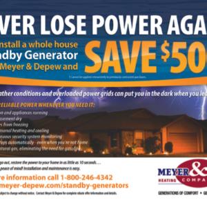 Meyer & Depew Ad
