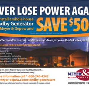 Meyer & Depew Marketing Material