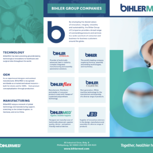 BihlerMed Brochure