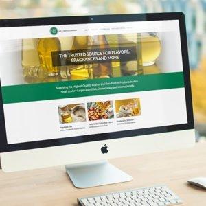 IHS Website on Desktop
