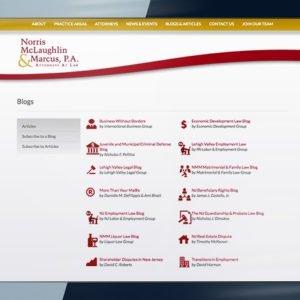 Norris McLaughlin Website Image