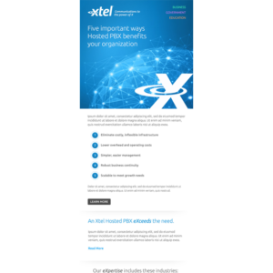 Xtel Email image