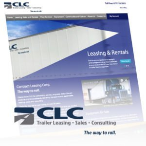 CLC website design
