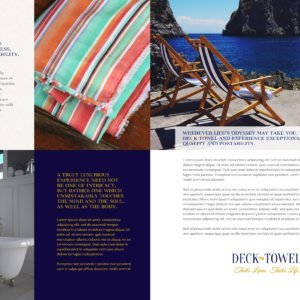 Deck Towel Print Marketing