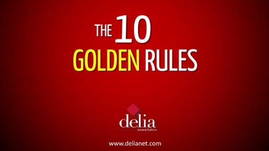 10 Golden Rules Slide