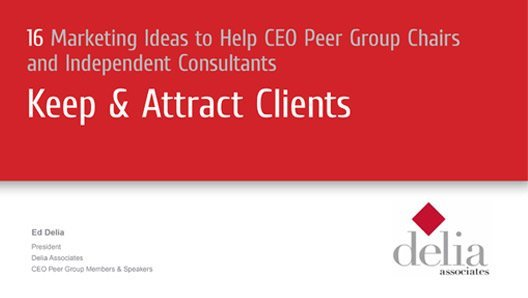 Keep and Attract Clients Slide