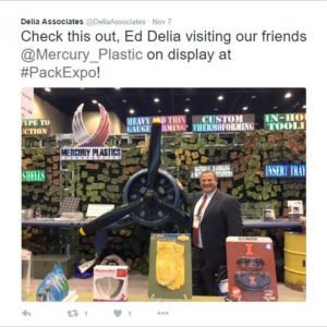 Twitter Tradeshow Marketing with Delia Associates