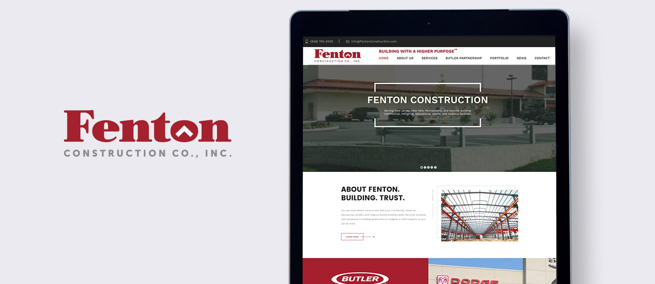 Fenton Construction Hero Image