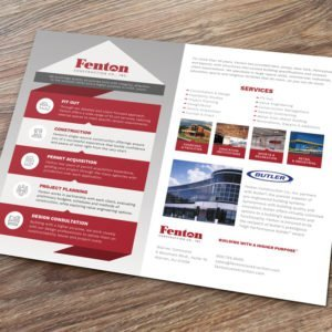 Fenton Construction Brochure - Delia Associates
