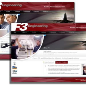 F3 Engineering Website