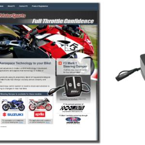 F3 Motorsports Website