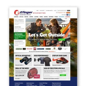 Efinger Sports Website