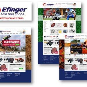 Efinger Sports Website