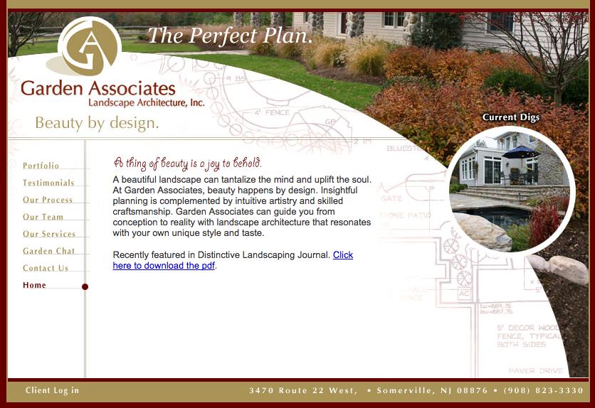 Delia Associates Web Development for Garden Associates