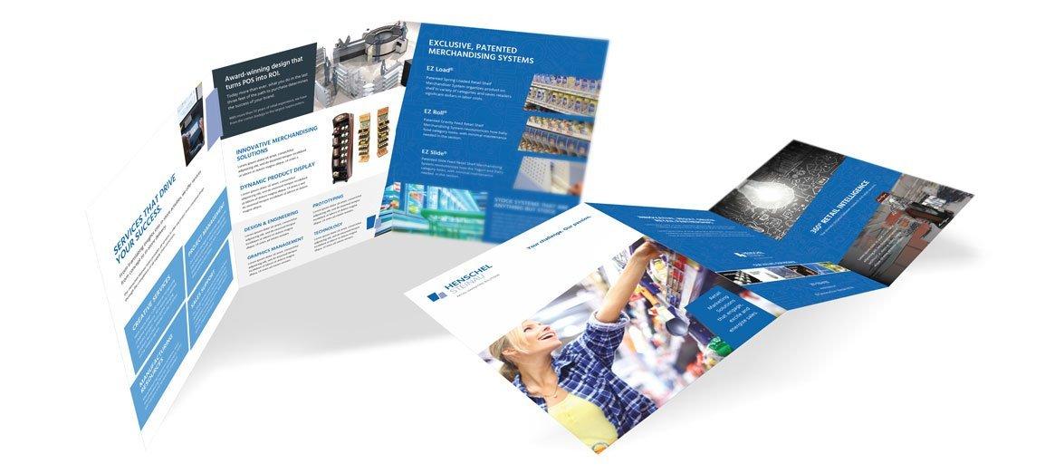 Henschel-Steinau brochure by Delia Associates