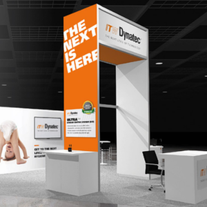 ITW Dynatec Tradeshow Booth