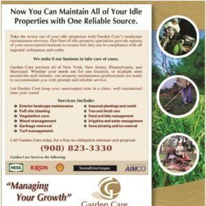 Delia Associates branding for Garden Associates