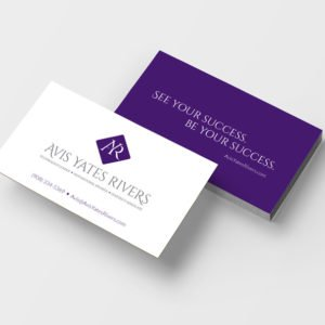 Avis Yates Rivers Business Cards