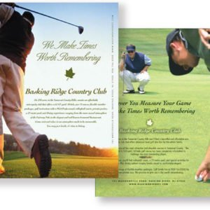Basking Ridge Country Club Flyer