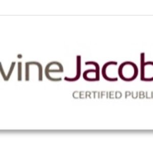 Levine Jacobs Logo design by Delia Associates