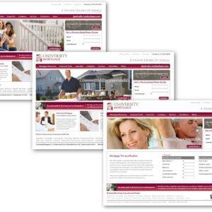 University Mortgage Website