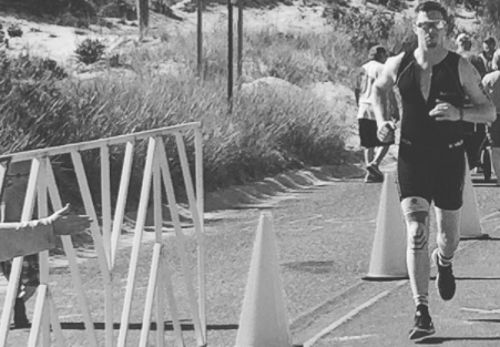 Matt running race