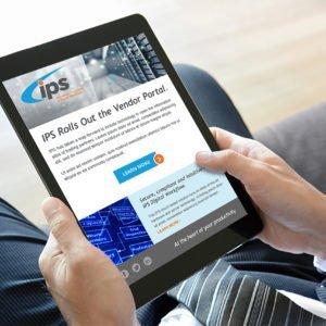 IPS Website on iPad