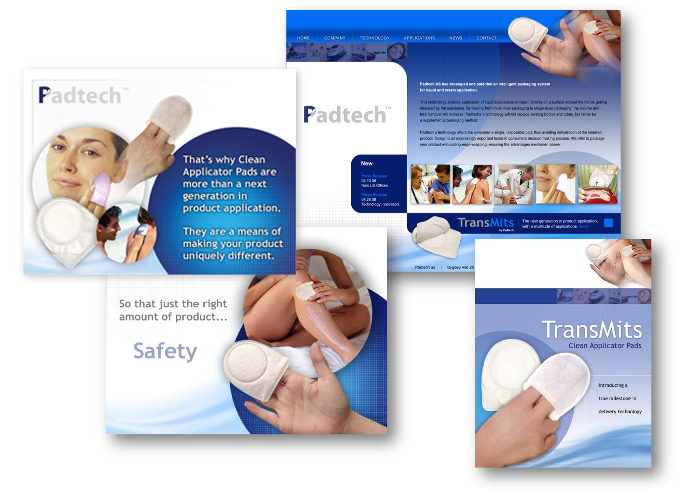 Brand Development for Padtech - Delia Associates