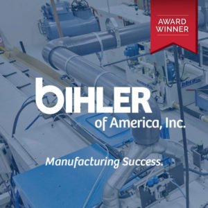Bihler of America with Award Cover Image
