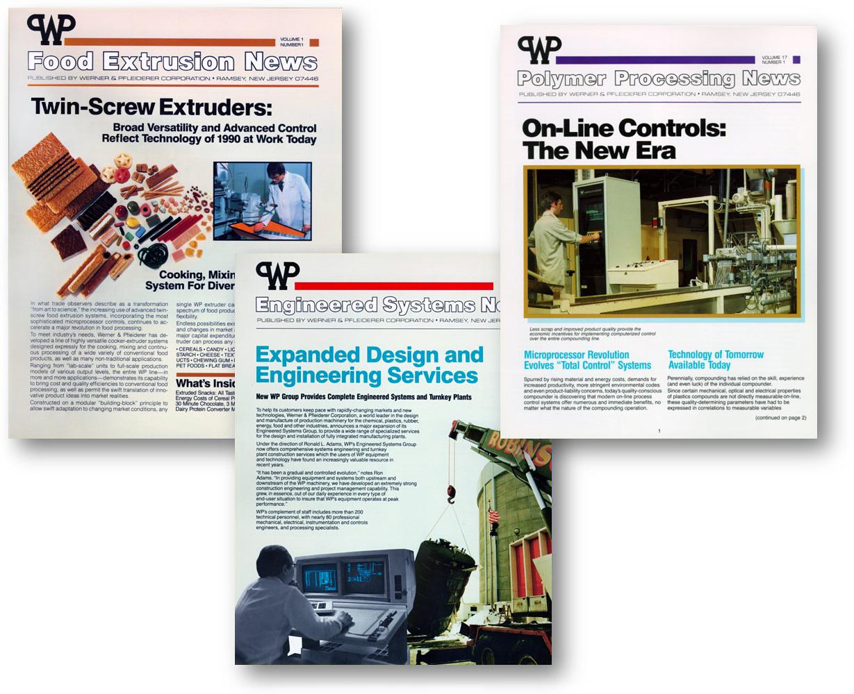 Werner & Pfleiderer Branding by Delia Associates