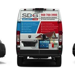 SDG Van Graphics