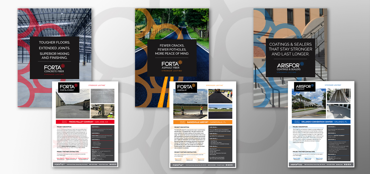 Forta Brochures and Sheets
