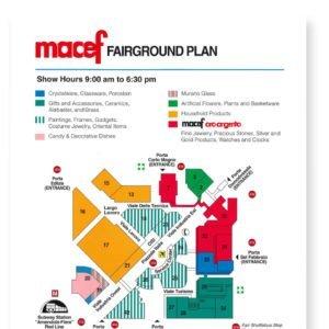 macef fairground plan