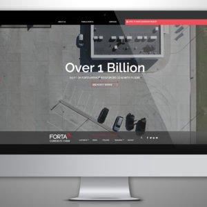 Forta Website on Desktop