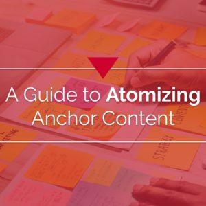 Content Atomization Slide