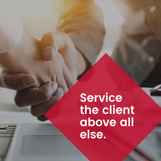 Service the Client Image