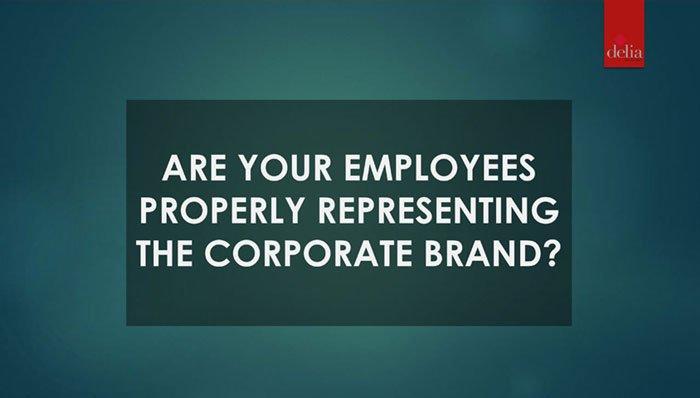 Employees Properly Representing Slide