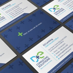 D&E Business Cards