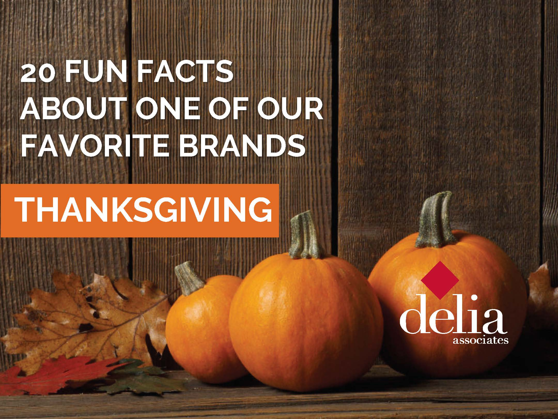 Delia Thanksgiving Fun Facts