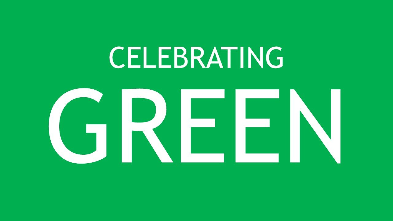 Celebrating Green Cover Image