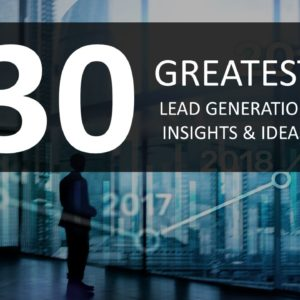 30 Greatest Lead Generations Image