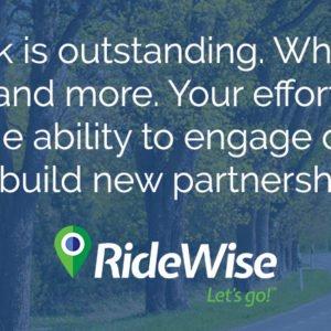 RideWise Testimonial