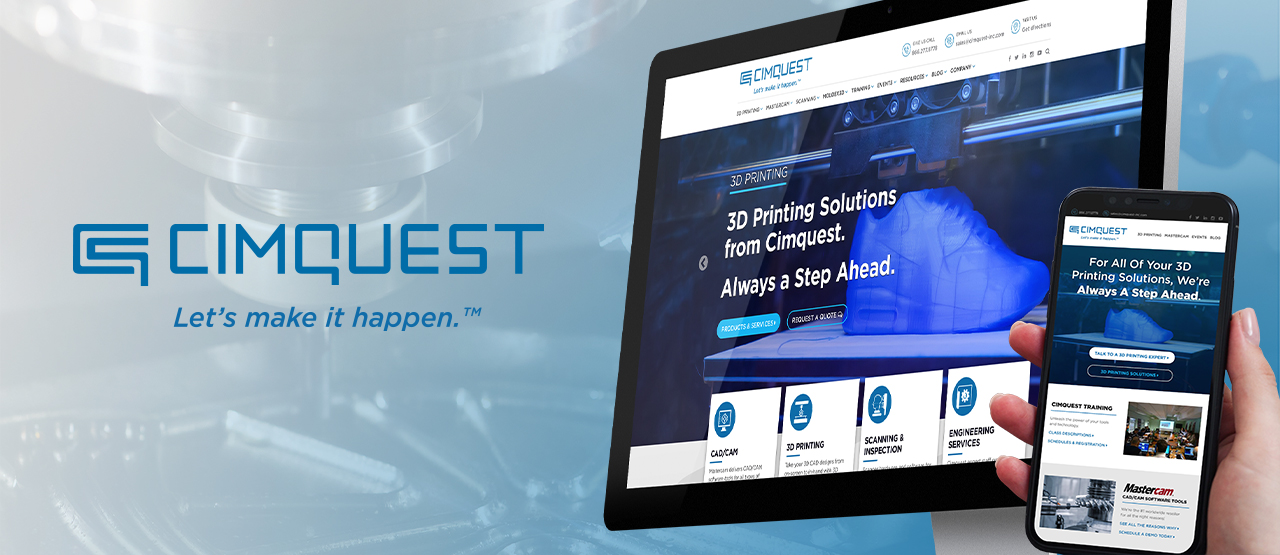 CimQuest homepage Banner