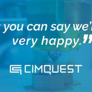 Cimquest Testimonial
