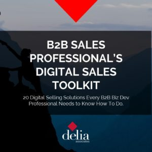 B2B Sales Professional's Toolkit Image