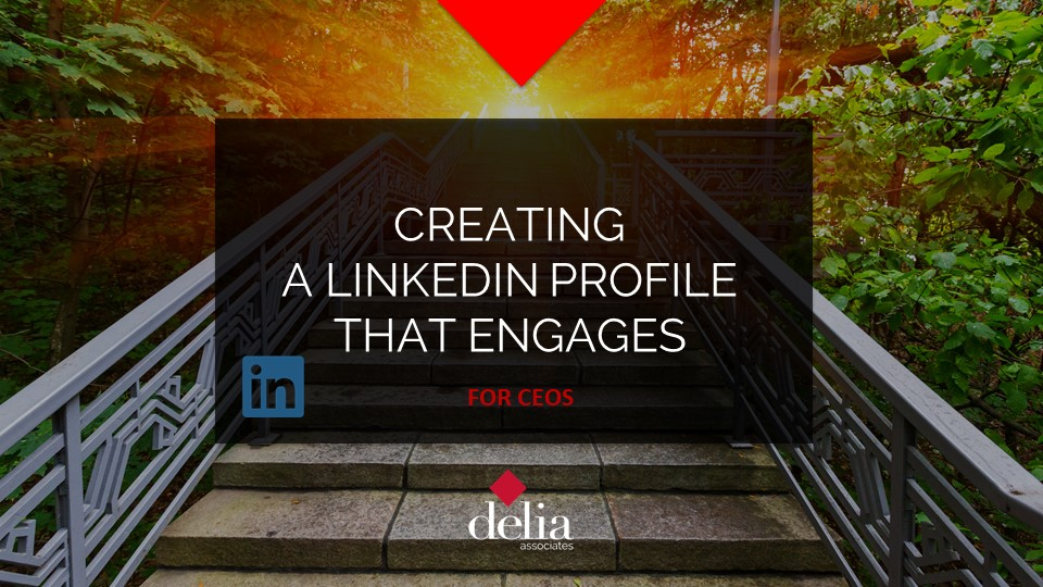 Creating a Linkedin Profile that engages Slider