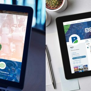 Becht Laptop and Responsive Image