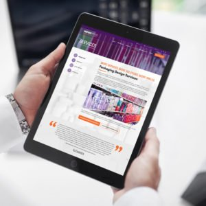 Empire Emco website on tablet image